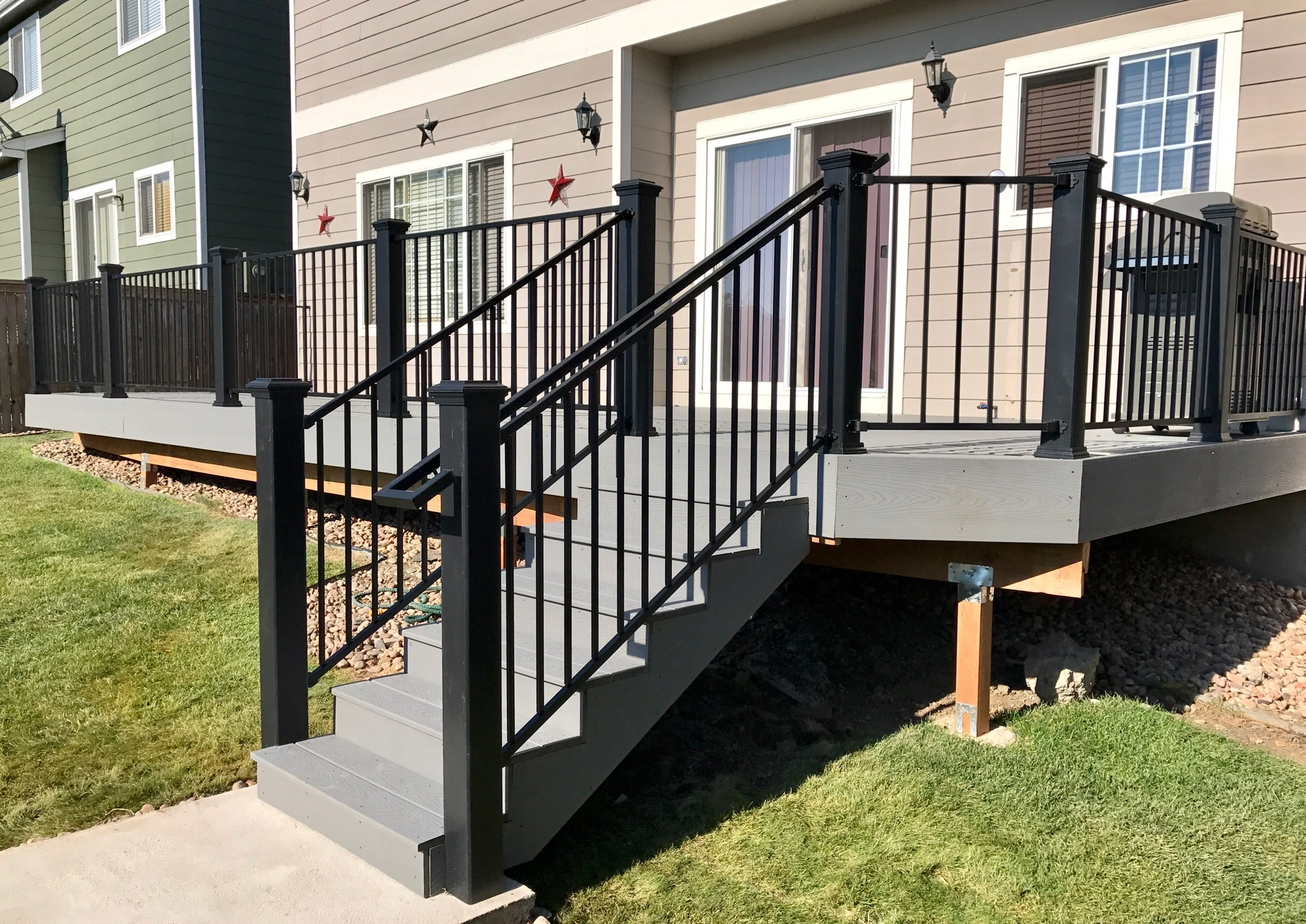 trex deck composite stairs - denver deck builders.jpg