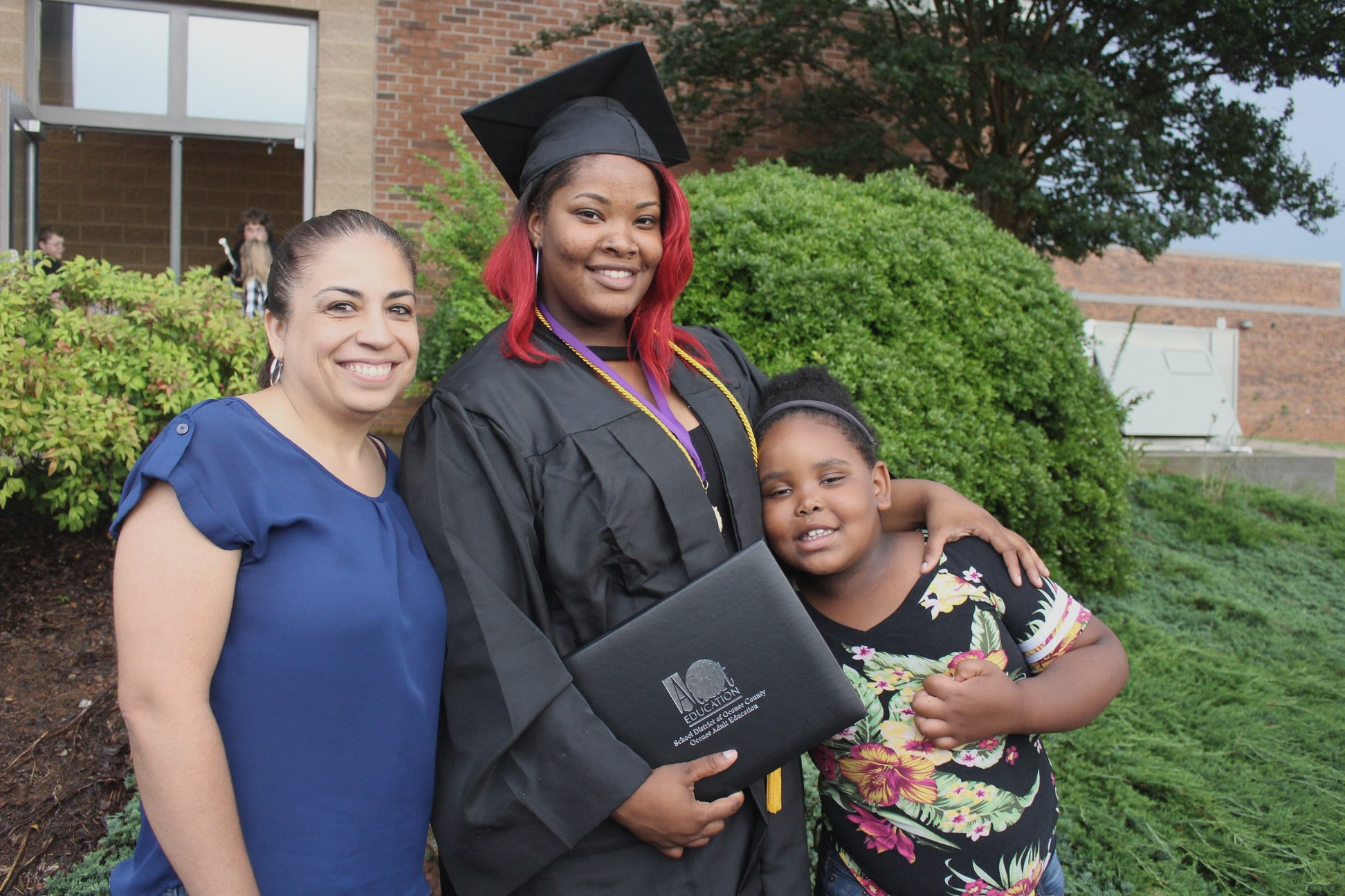 """I am so thankful for Ripple of One! Without them, I would have never graduated and received my diploma. With all the support and love, I made it happen!"" – Almon"