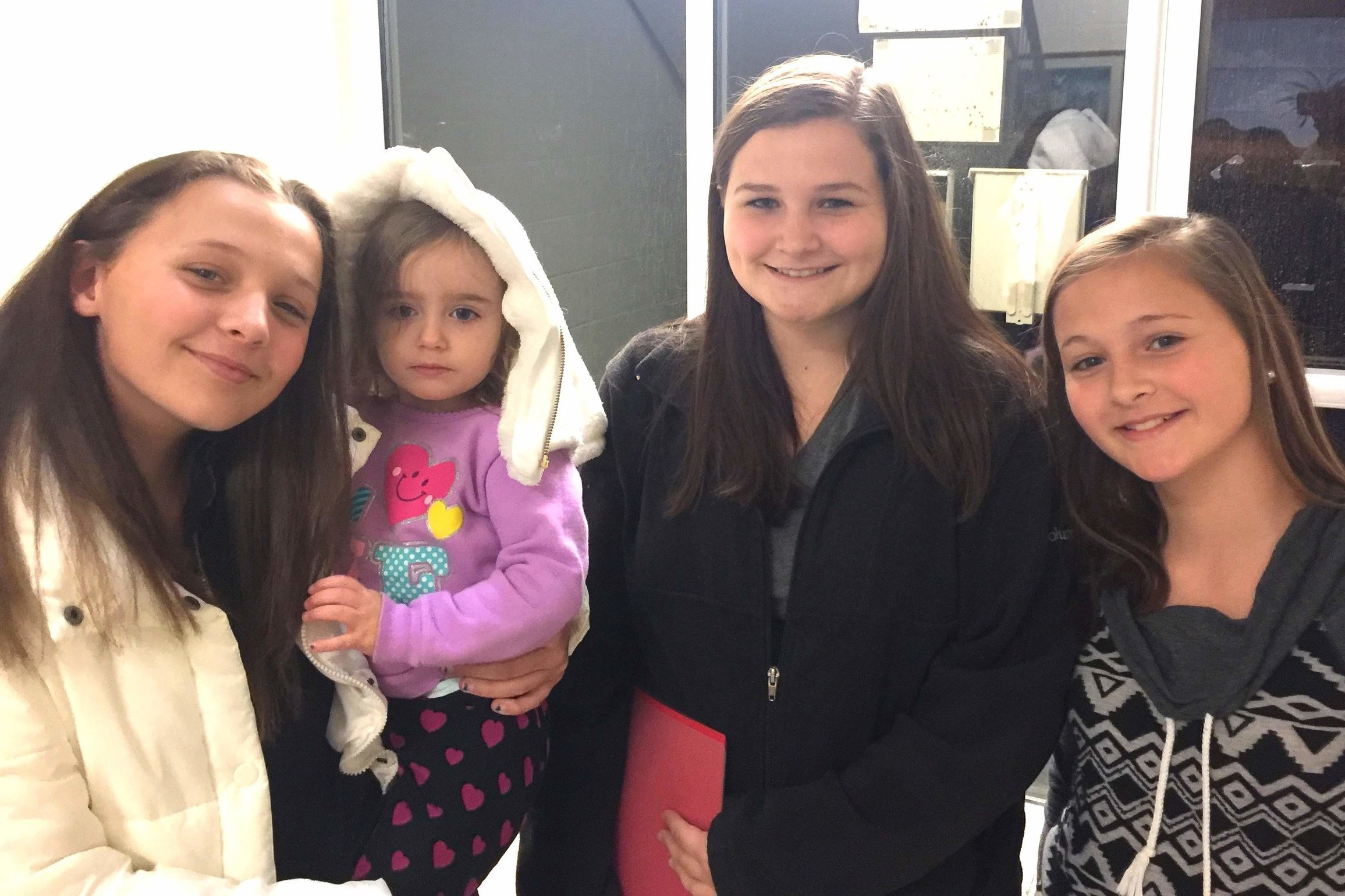 Tonya's Story - Tonya's daughters: Chloe, Bekah, Molly & Ruby