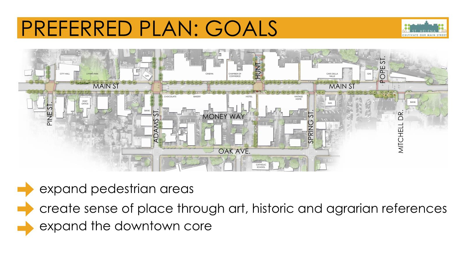 This plan is based on the overarching community input themes and our work thus far.