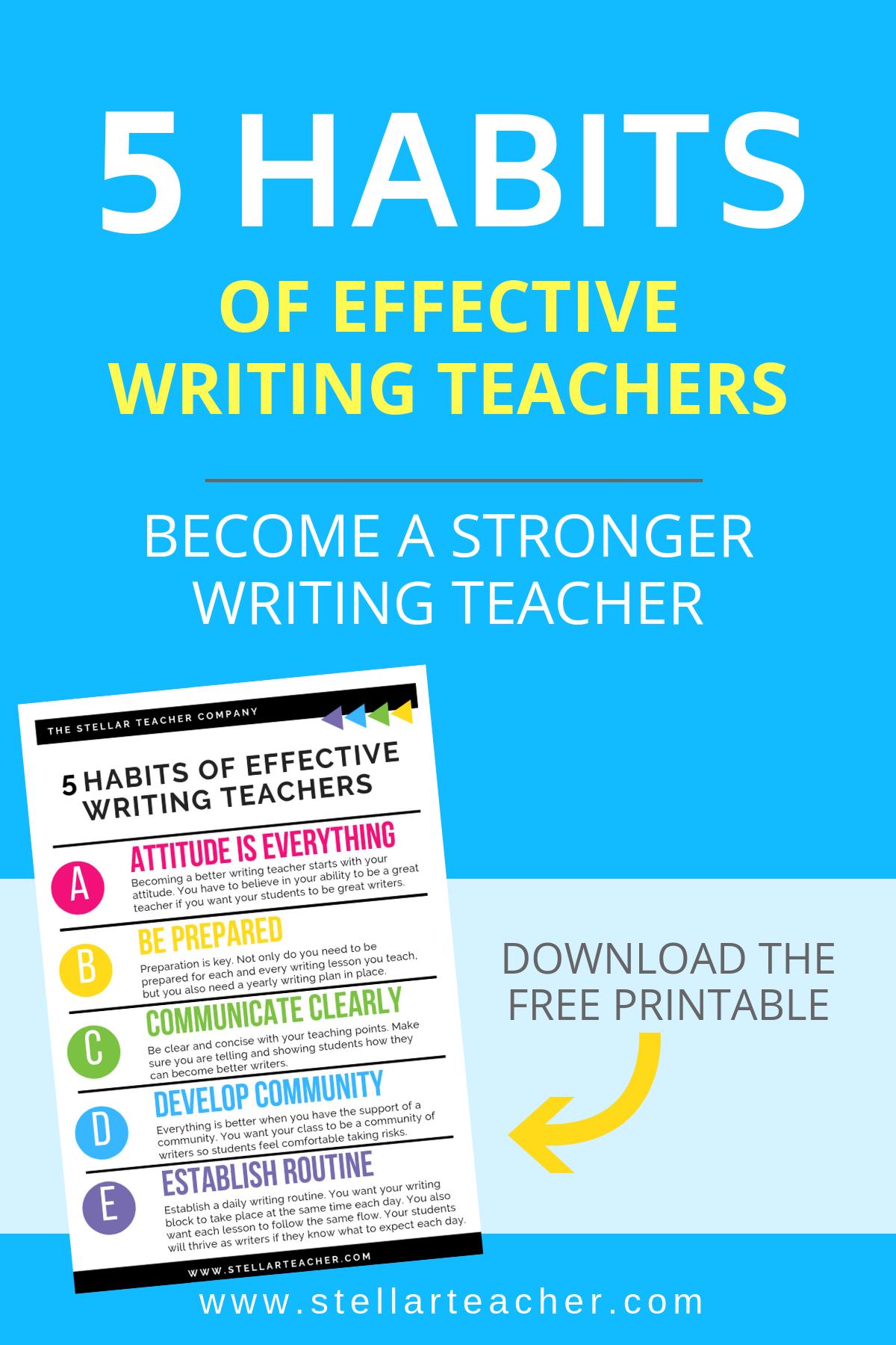 The Stellar Teacher Co. Habits of Effective Writing Teacher Pin.png