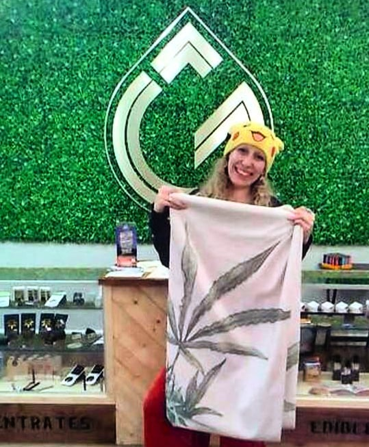 Congrats @lindsaboo7 , winner of our Monthly Giveaway! Hope you enjoy your towel, let us know if you go anywhere fun and sunny with it 🌞🍹😎 . Want your chance to win cool cannabis lifestyle swag? Ask our budtenders about the Ground Up Farms Loyalty Program! Next month's prize TBA soon! . . . . #groundupfarms #livegroundup #monthlygiveaway #winner #giveawaywinner #everyonesawinner #weloveourcustomers #cannabislifestyle #cannabisaesthetic #summerfun #monthlyprize #craftcannabis #cannabisconnection #cannabiscommunity #oregongrown #oregoncannabis #smokelocal #southernoregon #medfordoregon #medford #budtender #roguevalley #liveloud #enjoylife