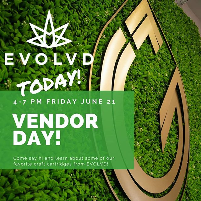 VENDOR DAY TODAY 4-7pm with @evolvdcannabis ! ⚡Learn about EVOLVD's new Living Resin cartridges, why whole spectrum cannabis extraction is so important, and why their cartridges pack such a delicious punch!⚡ . . • Over 21 only • Nothing for sale on Instagram • Consume responsibly • . . #groundupfarms #livegroundup #vendorday #demoday #evolvd #cannabisextract #extract #cartridges #wholespectrum #livingresin #710 #710life #cannabisconnection #craftcannabis #cannabiscommunity #oregongrown #oregoncannabis #smokelocal #southernoregon #medfordoregon #medford #roguevalley #budtender #liveloud #enjoylive