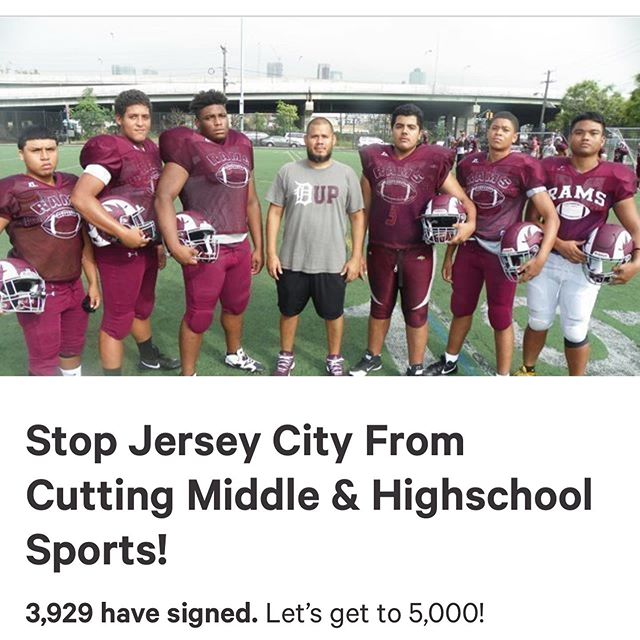 Update on our school sports battle. We fought and we won. There's still a lot more to fight for in our budget but I'm glad this board was able to agree that our sports program is vital to who we are as a district and who we are as a city. #SaveOurSports #JerseyCity