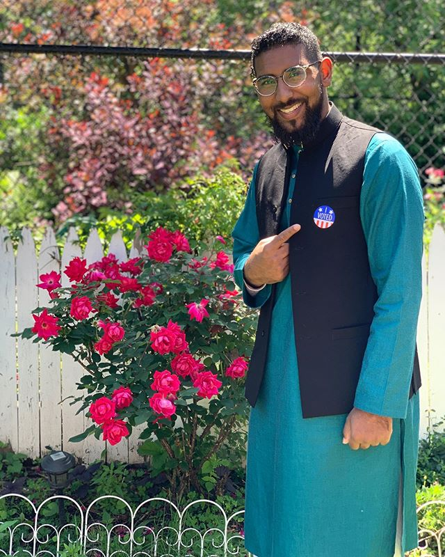I'm that guy at the mosque reminding all the uncles to go vote today. #ElectionDay #EidMubarak2019