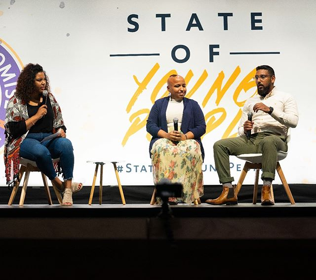 Had an amazing experience at the #StateOfYoungPeople hosted by @americaspromise  with @facebookedu The event really gave me hope for America's future. I had a chance to let our generation know that we don't have time to wait, our planet is burning, our democracy is under attack, and so many of our legislators have let us down. It's time for us to step up and run. #NoTimeToWait
