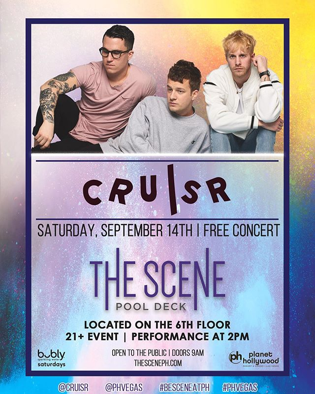 Pool party. Vegas. Free show. Ummm, yes please. ✋
