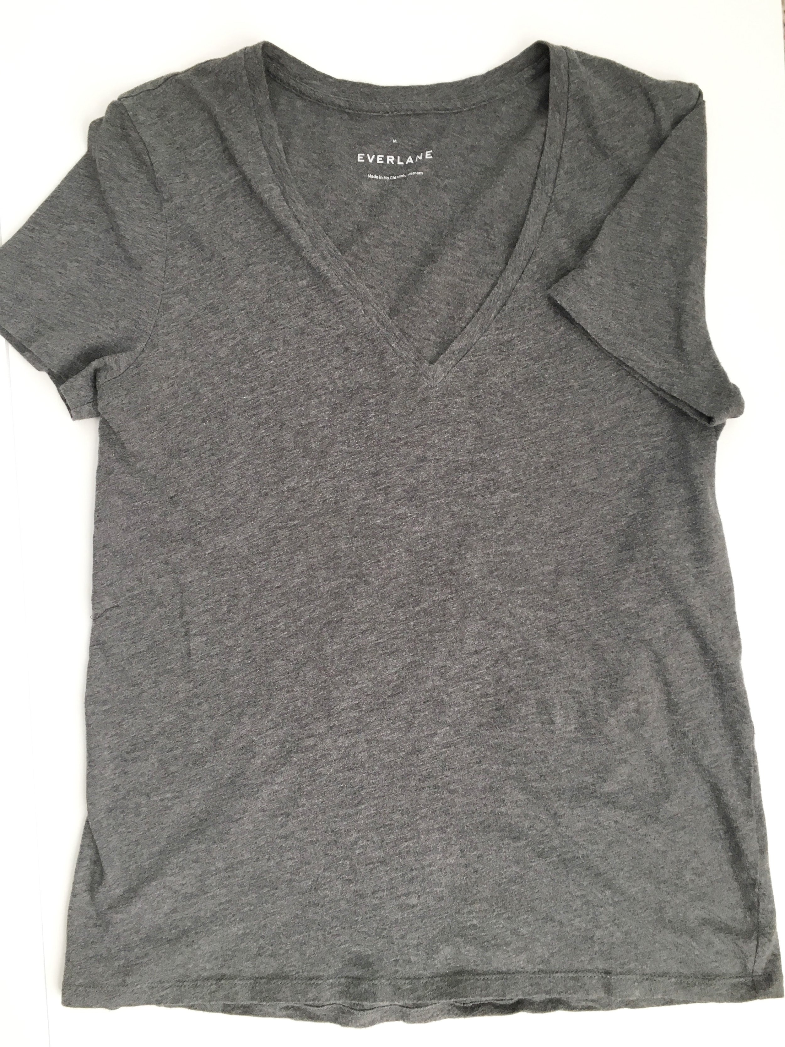 Spring fashion style: 10x10 challenge (ethical brand Everlane)