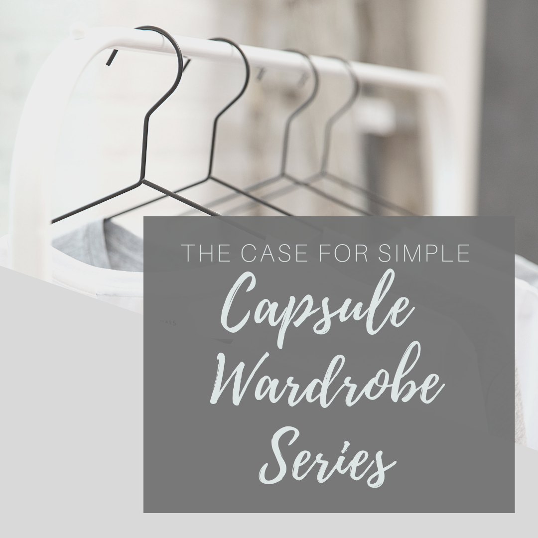 Building or creating a capsule wardrobe