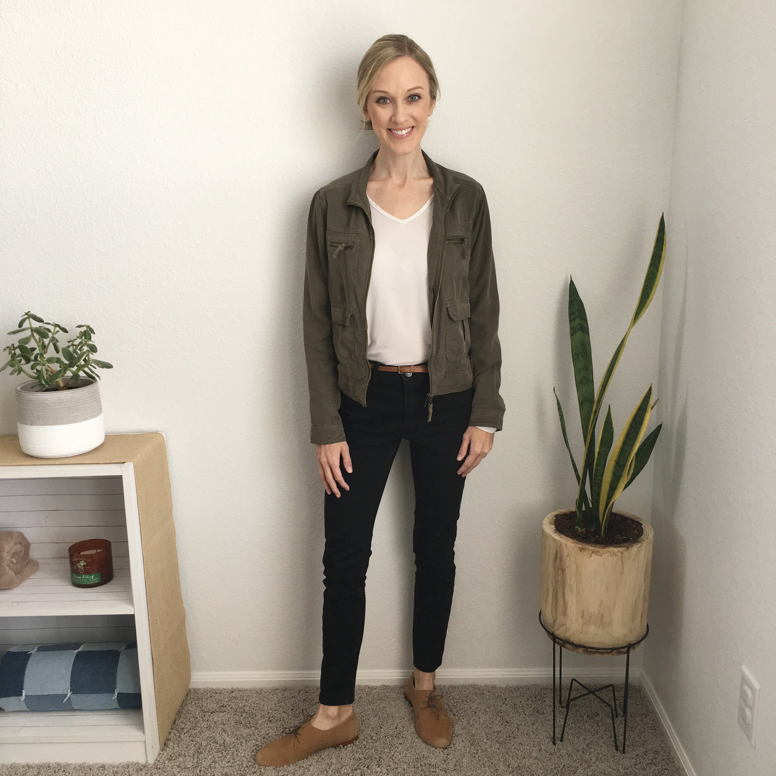 Outfit 9: 10x10 Style Challenge with sustainable clothing