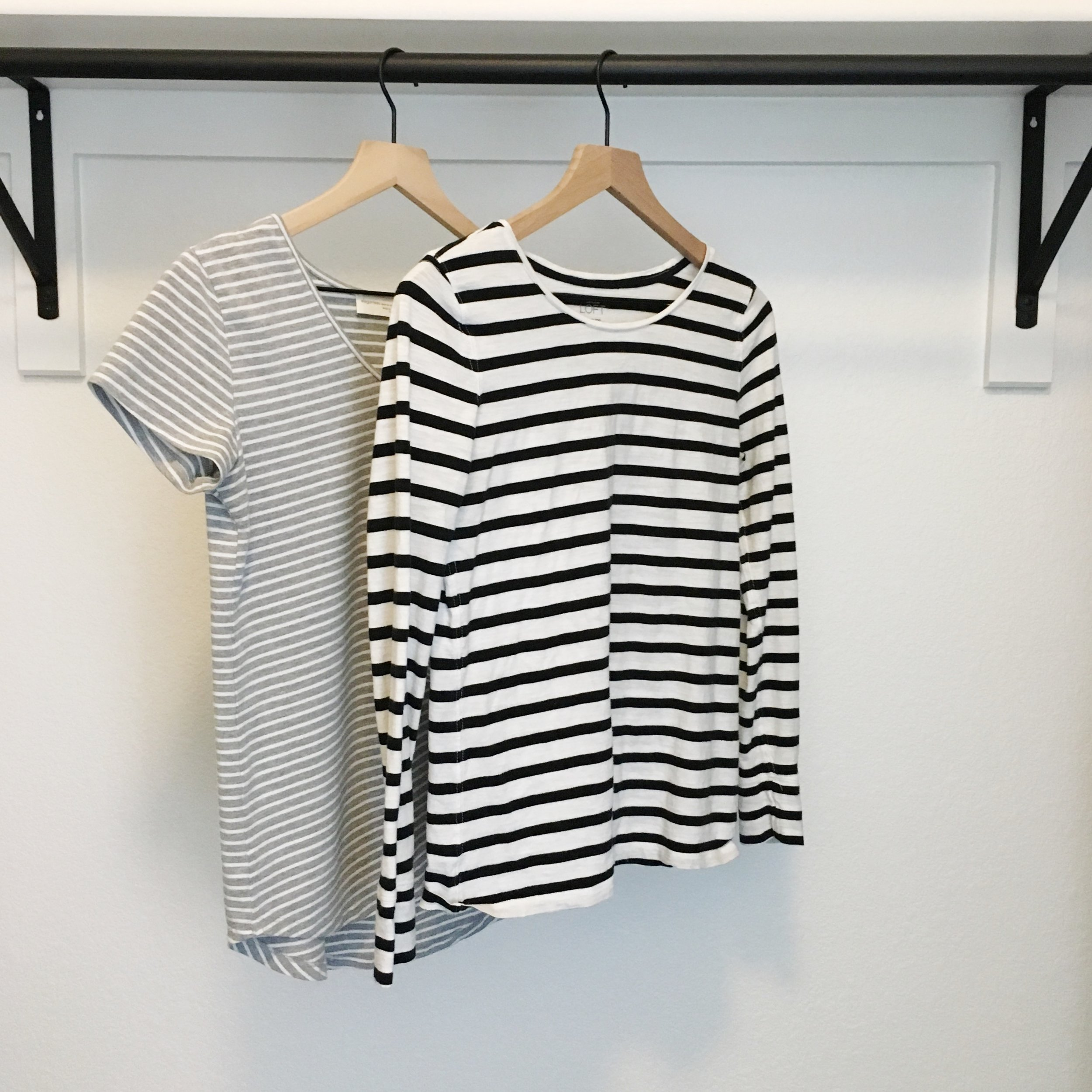Ethical brands; striped classic style