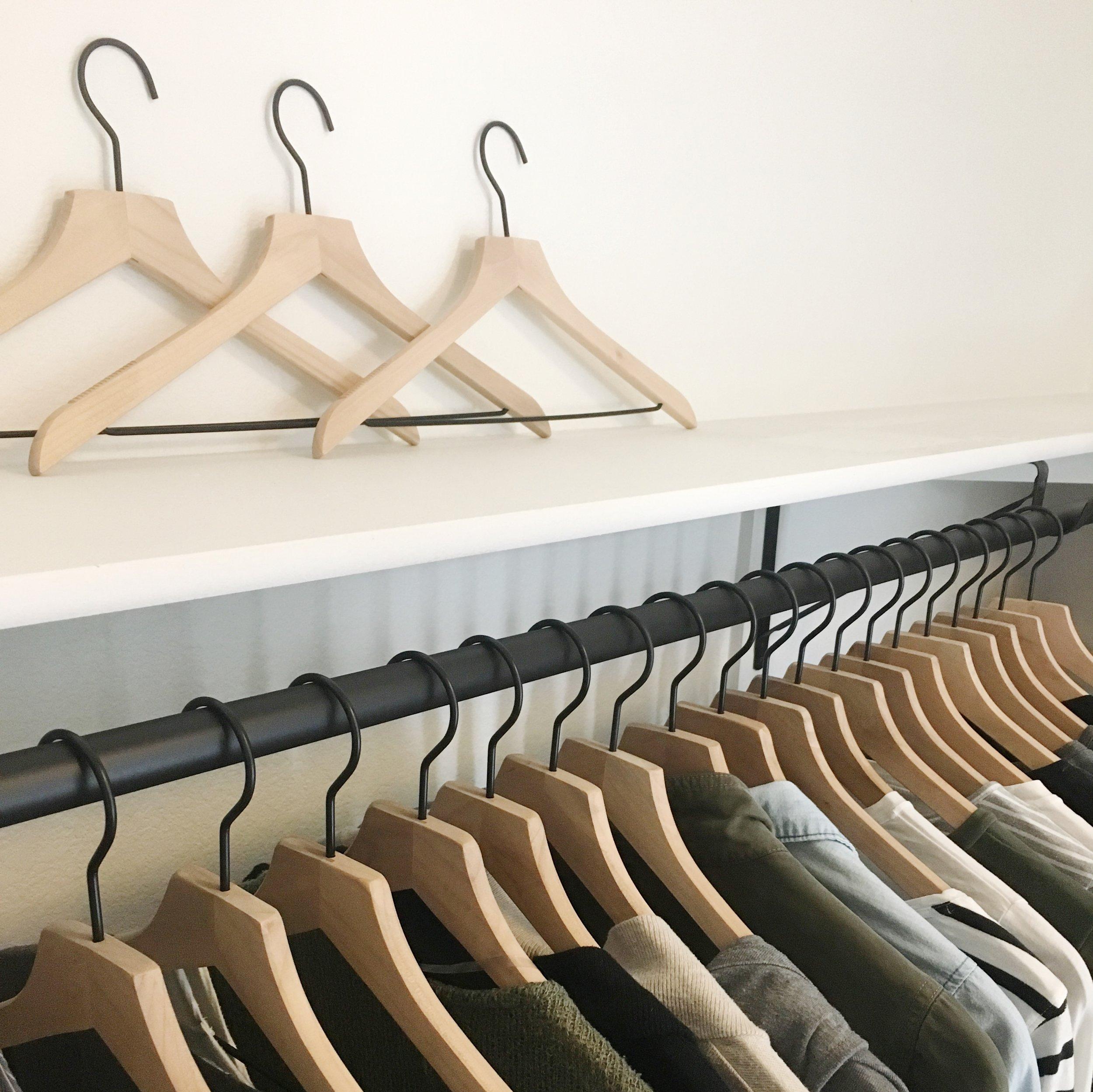 Capsule Wardrobe; closet organization; ethical clothing & brands