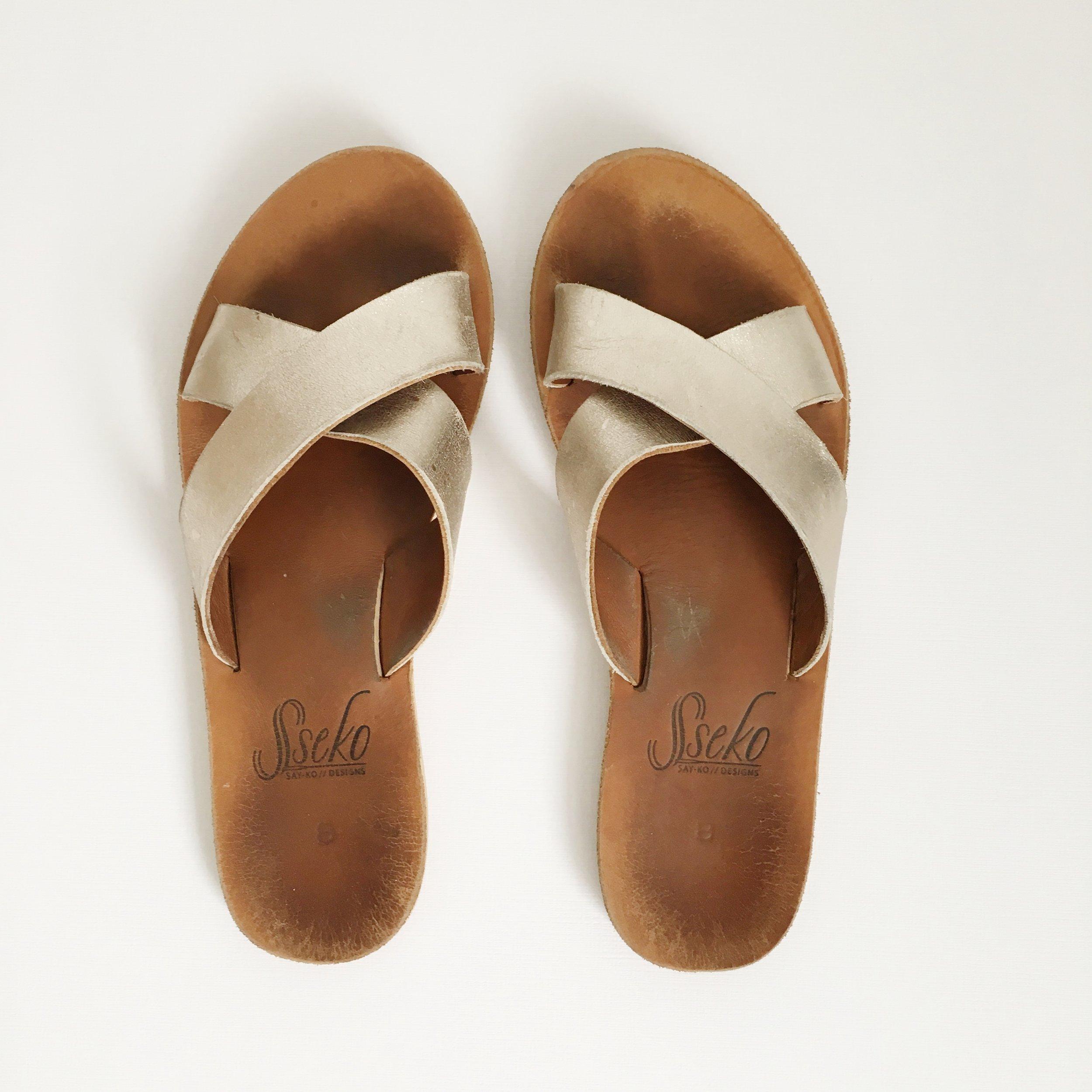 Sseko sandals; ethical brand, fair trade