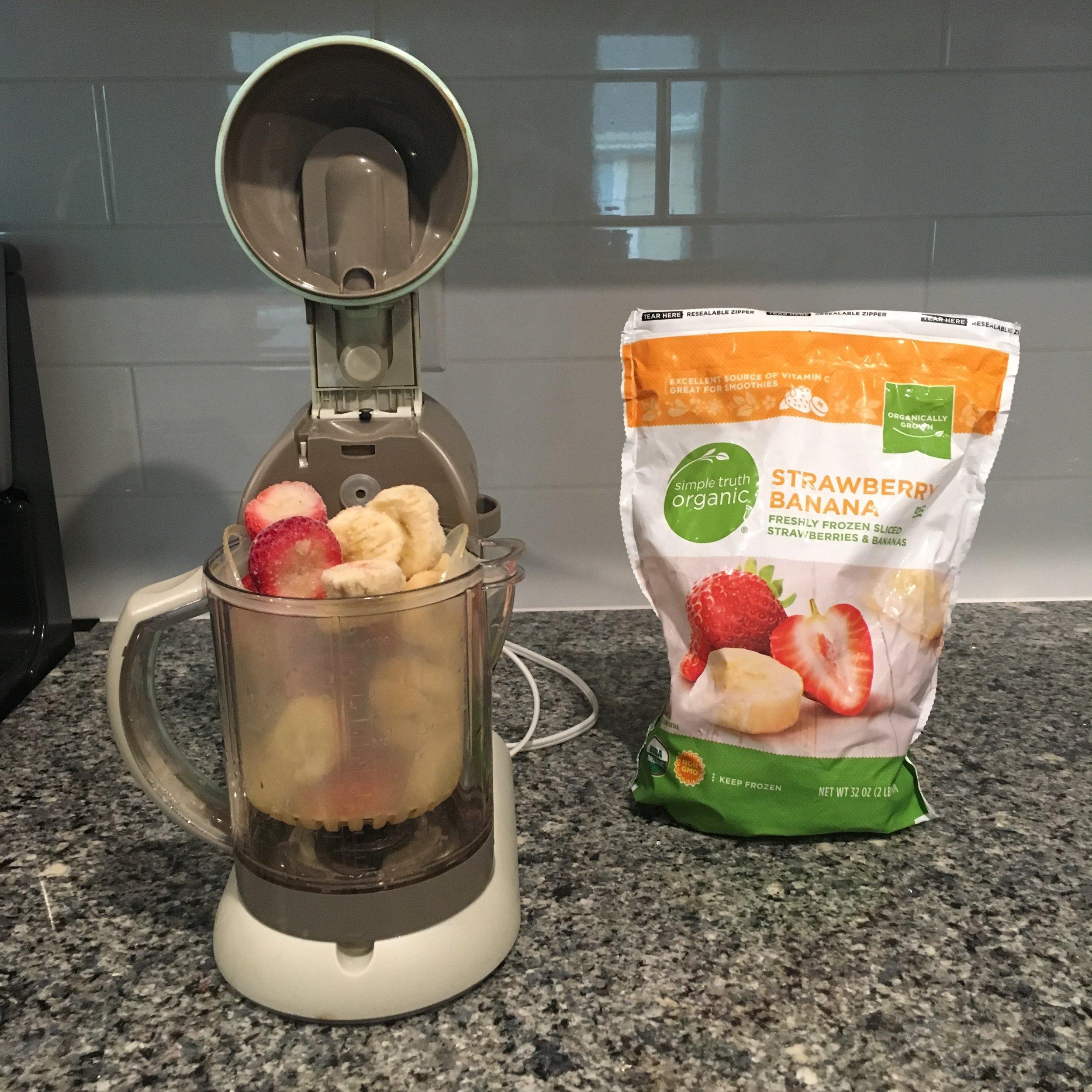 Step 1: Simple Toddler Fruit & Yogurt Smoothie
