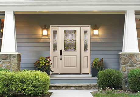 SMOOTH FIBERGLASS COLLECTION - Smooth fiberglass doors offer a clean, contemporary look with high quality construction for added strength. A smooth surface, distinctive stile and rail lines and highly defined panel embossments are the hallmarks of smooth fiberglass doors. Unlike wood or steel doors, they won't crack, split, dent or rust. Smooth fiberglass doors are engineered to last a lifetime and offer all of the performance and energy efficient benefits of fiberglass.