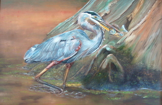 Catch of the Day  Oil on Canvas 24x36