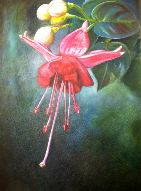 First Bloom  Oil on Canvas 20x30