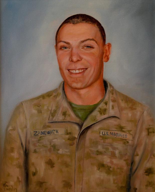 Corporal Paul W Zanowick II (Rocky)