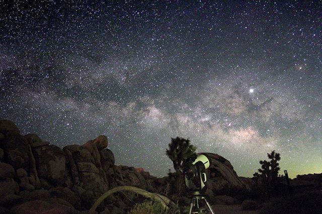 Summer is the perfect time of year to see the Milky Way! Join us on a journey through the cosmos! Photography by our personal astronomer @deepskysteve