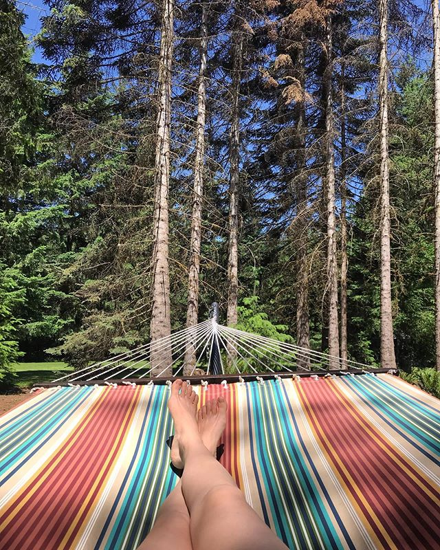 Getting a taste of the PNW summer at our spring retreat!  @heavenandearthretreats #pnwonderland #glamping #summervibes #yogaretreat