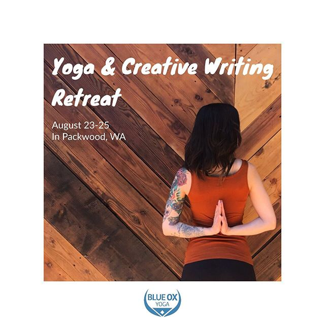 You're invited to join us for a weekend of all-levels friendly yoga, writing, hiking, deep meditation and creative hydration. 💦 ✨  Enjoy local ☕️ from @mountain_goat_coffee 🌮 from @packwoodbrewingco 🏔 hiking 🛏 Historic lodging at @packwoodstation ✨  Your guides @je.nessastark and @sarahmayhowl have all kinds of creative mojo inducing activities including yoga, trance journeys and writing without limitations. ✨  Weekend packages are all-inclusive, and they're all under $450 per person! ✨  Come learn why 🧘🏻♀️ and ✍️ go together like PB & chocolate. ✨  Book your experience at the link in our bio! ✨ ✨ ✨ ✨ #yogaandwriting #yogaandwritingretreat #pnwyoga #pnwyogi #yogaretreat #pnwretreat #pnwonderland #mountainyoga #yogafam #pnwcreatives #pdxypogascene #meditation #meditationretreat #yogainpdx #seattleyoga #discoverwashington #packwoodwa #mountainretreat #writingretreat #yogaandcoffee #healingartists #pnwyogis