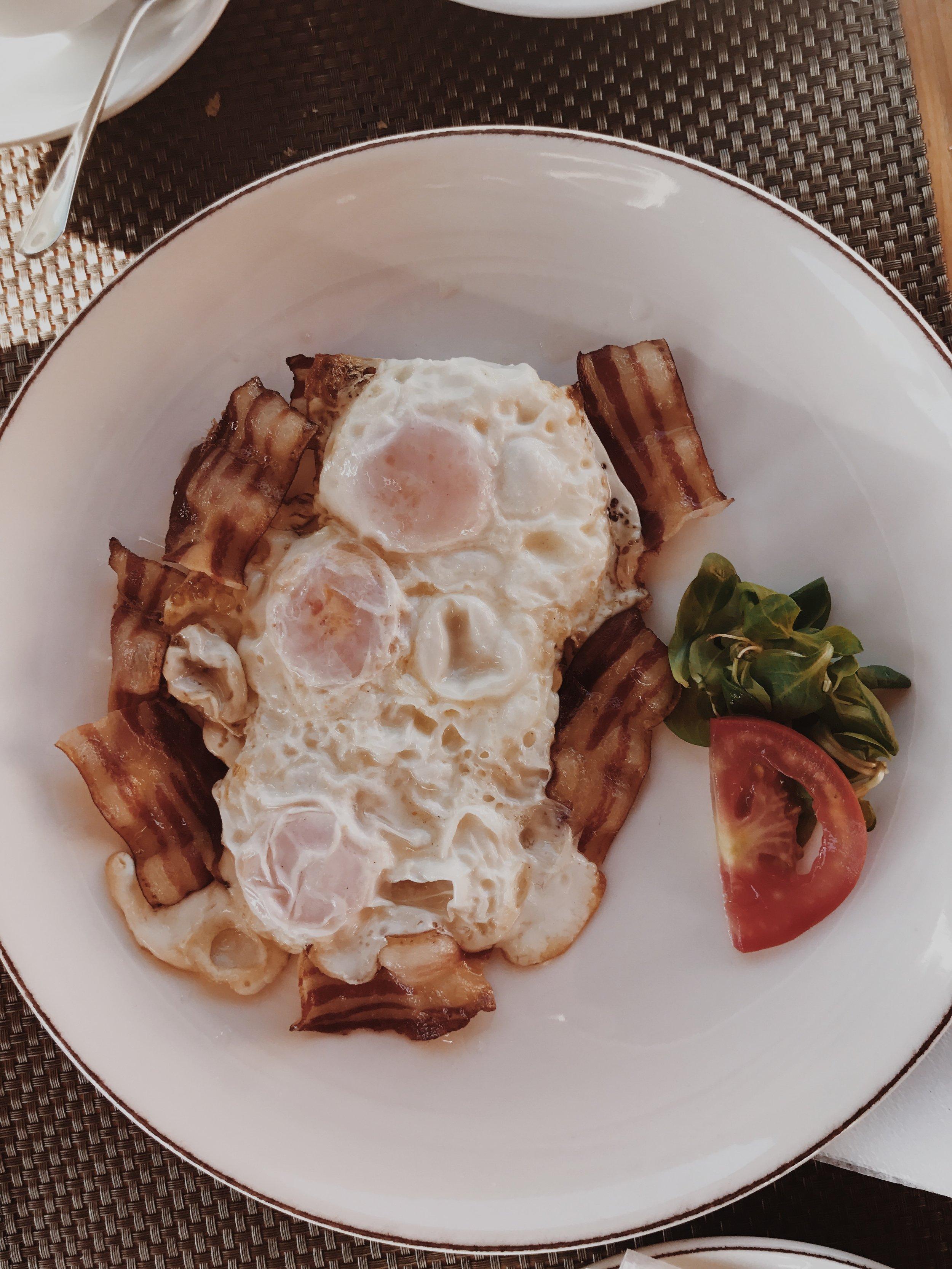 croatia breakfast