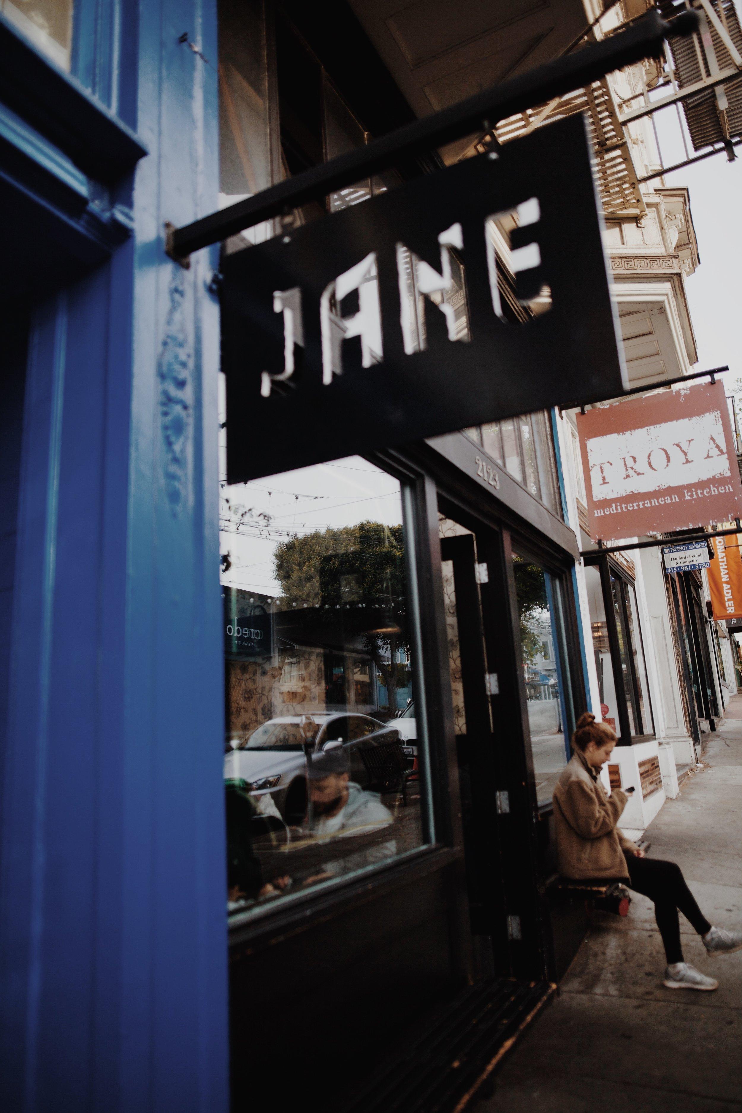 Jane on Fillmore