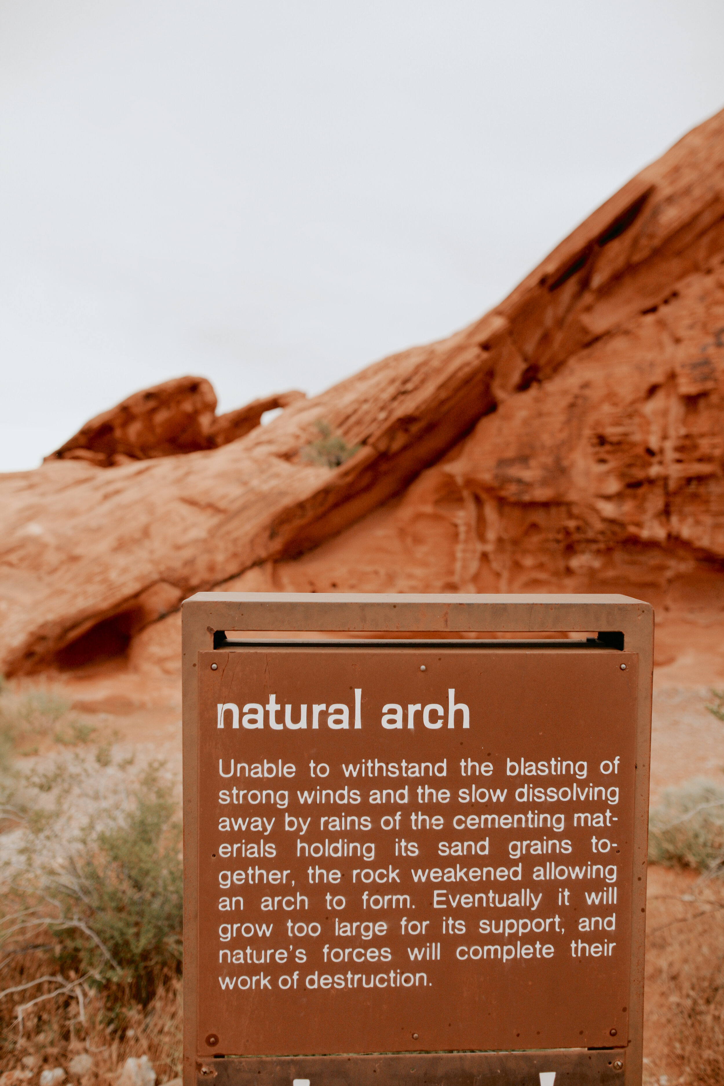 Arch rock valley of fire