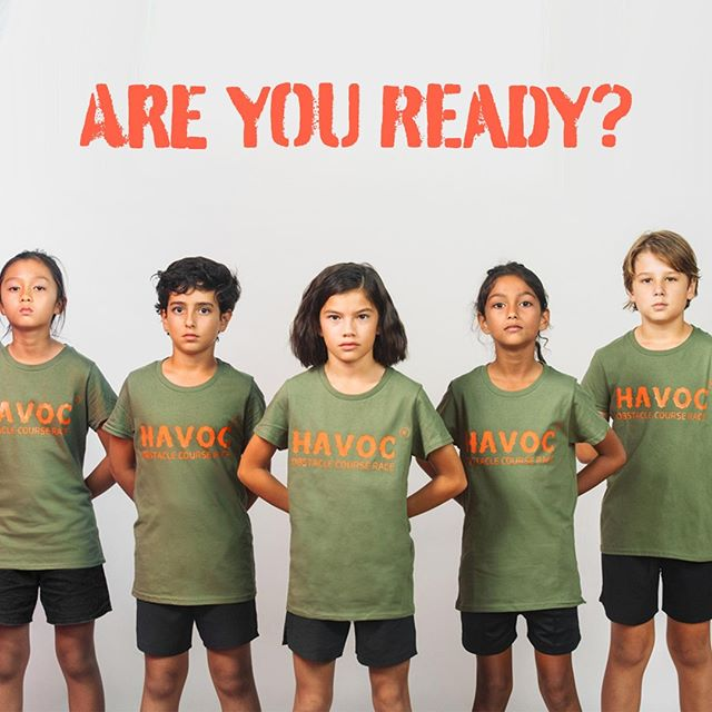 Get ready to #WREAKHAVOC, our first race for 2019 has been confirmed! The Havoc Kids Race will take place on Palawan Green, Sentosa on Sunday 16th June 2019 - REGISTER NOW at havockidsrace.sg⠀ .⠀ .⠀ .⠀ .⠀ .⠀ #wreakhavoc #ocr #obstaclecourse #obstaclecourserace #singapore #asia #fitness #training #workoutoftheday #race #trainhard #endurance #specialforces #soldiers #kidsrace #kidsocr