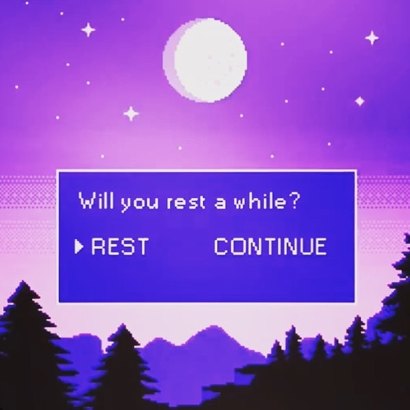rest is best💜💙