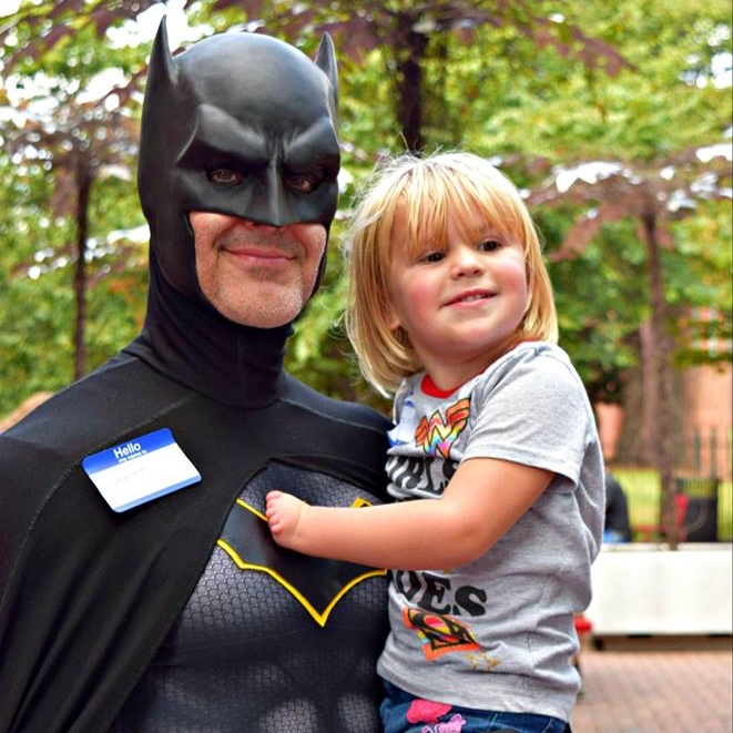 Batman and The Discovery Place Charlotte donated their time, resources, and space to allow us to have an awesome 2018 Fall Family Get-Together.