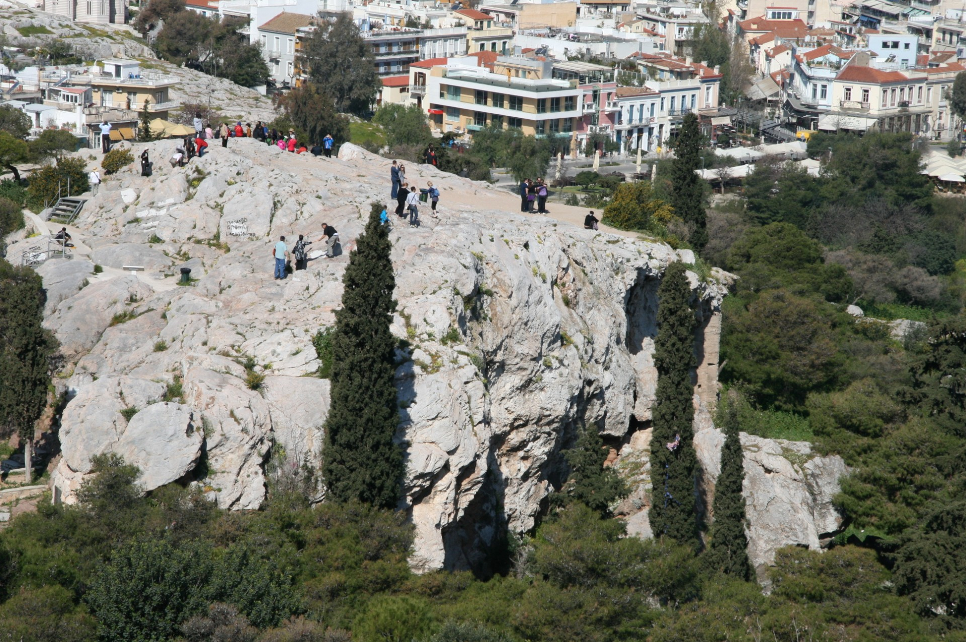 Areopagus - Mars Hill - Athens Greece