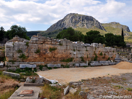 Bema Seat - Ancient Corinth