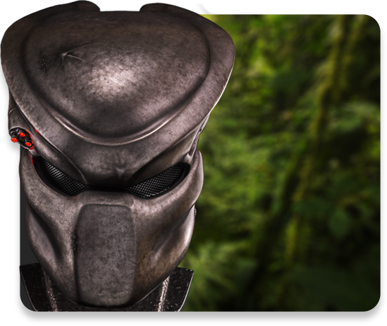 Life Size Predator Mask Replica