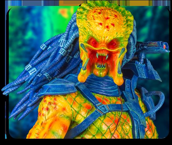 1:6 Scale Exclusive Thermal Vision Predator Statue