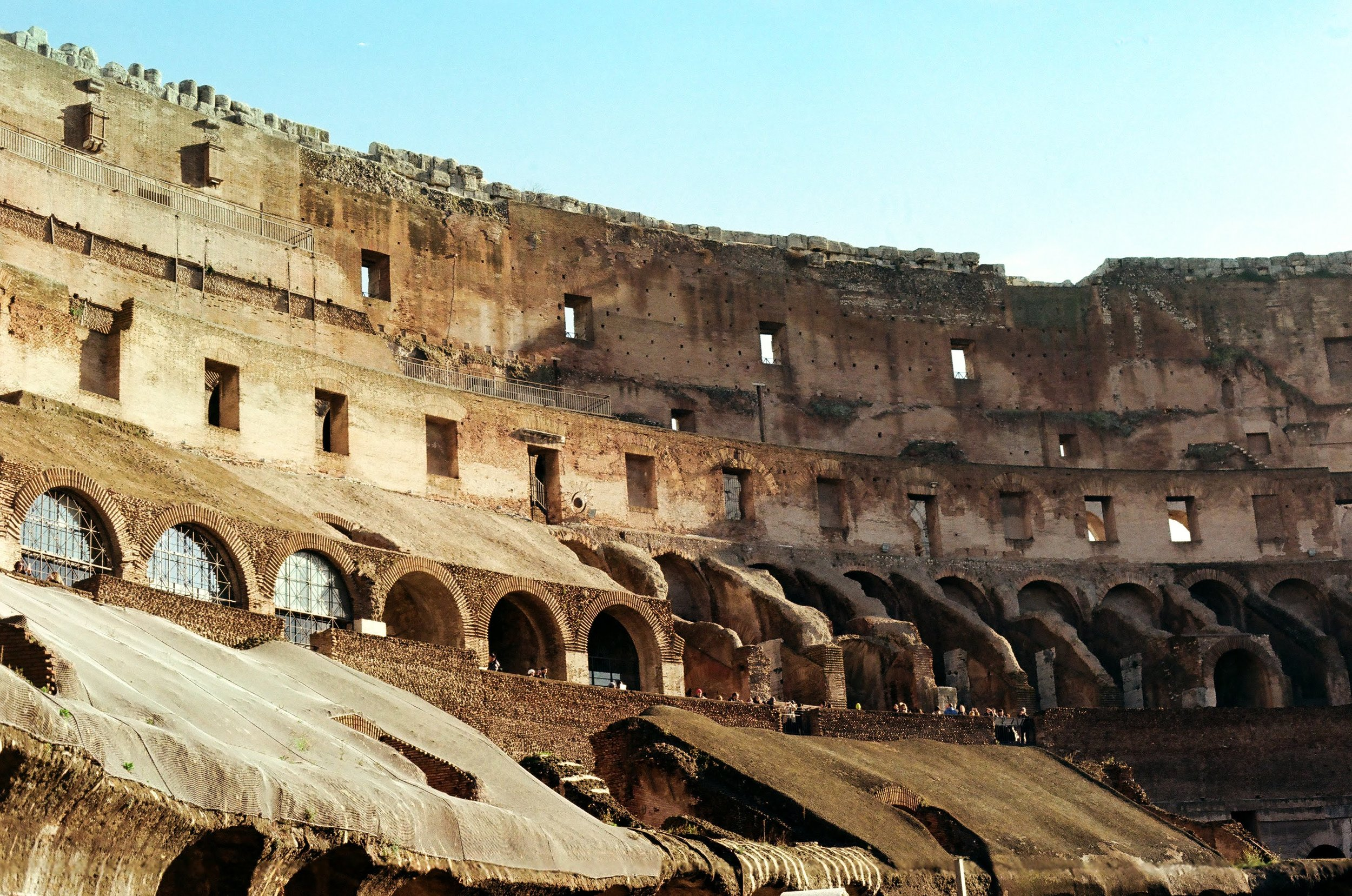 Colosseum on Kodak Colorplus