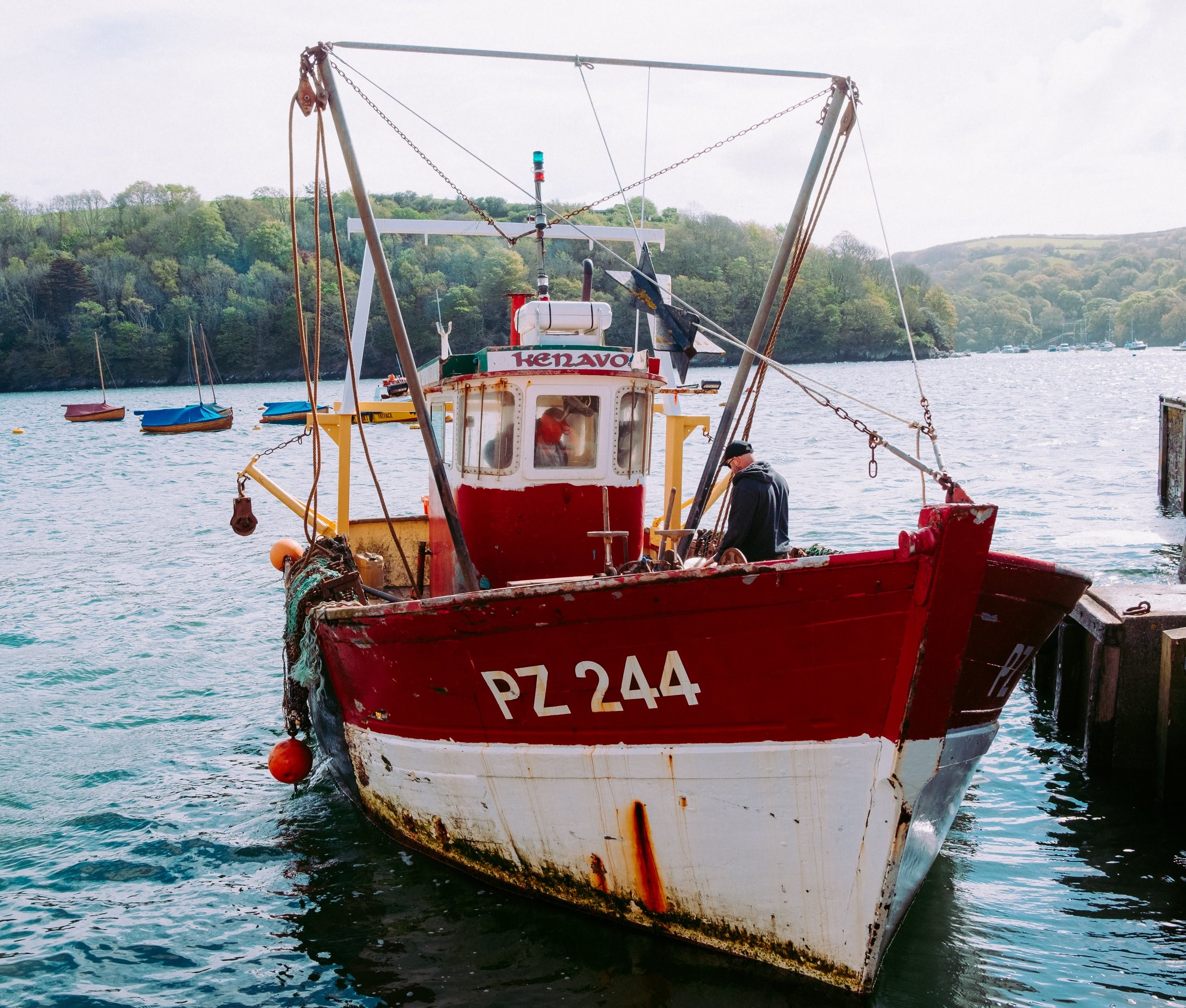 Cornish Boat Fowey