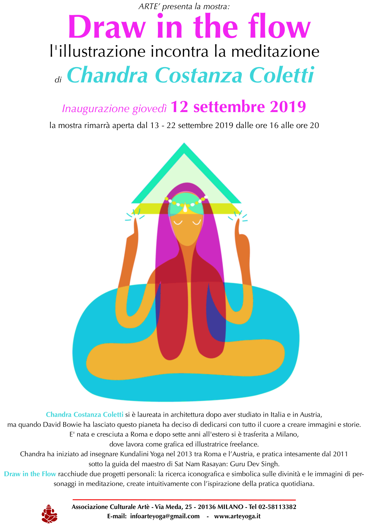 Draw in the flow - 12 settembre 2019