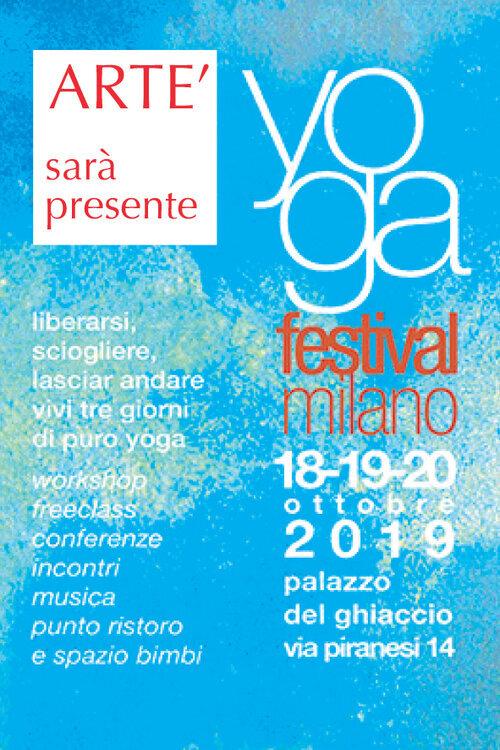 Artè - sarà presente a Yoga Festival Milano