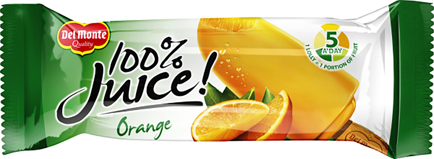 2436 - Del Monte 100%% Juice Orange Wrapped.png