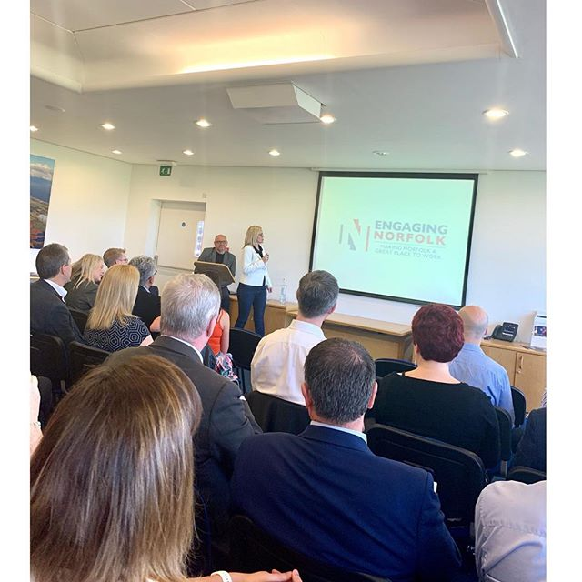 Amazing morning at Birketts LLP, hearing from Cassandra Andrews and Brian Bush from Engaging Norfolk about developing, identifying and engaging your current workforce. @swarmbe_recruitment love it!#recruitment #engagingnorfolk