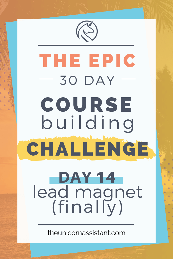 build an online course in 30 days challenge - day 14.png