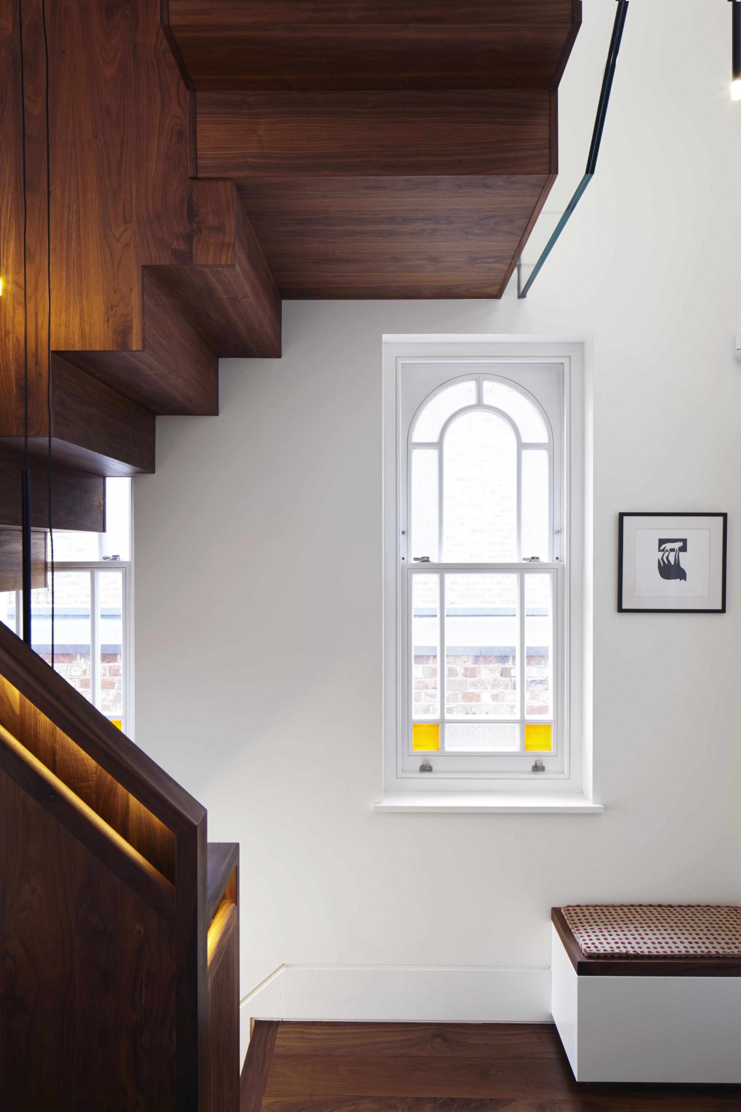Shape Lantern Staircase