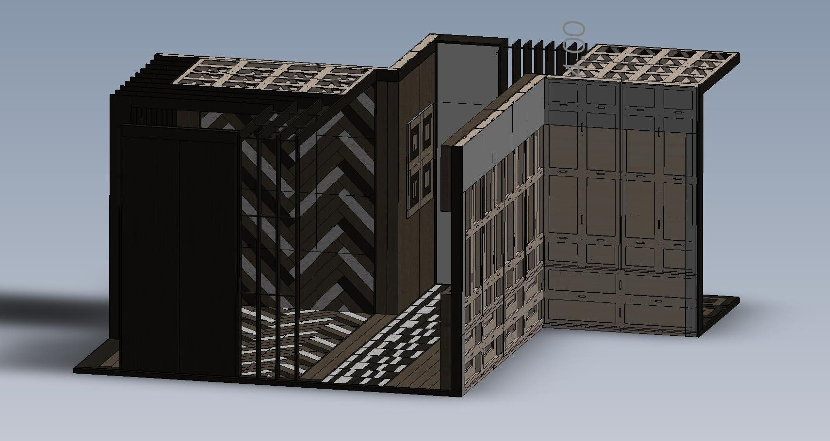 - View of model extracted from eDrawings