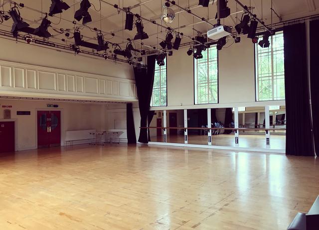 The Dance Studio at the Dance Centre in Llandrindod Wells