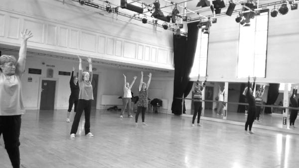 Senior Moment(um) our over 50's dance class in Llandrindod Wells.