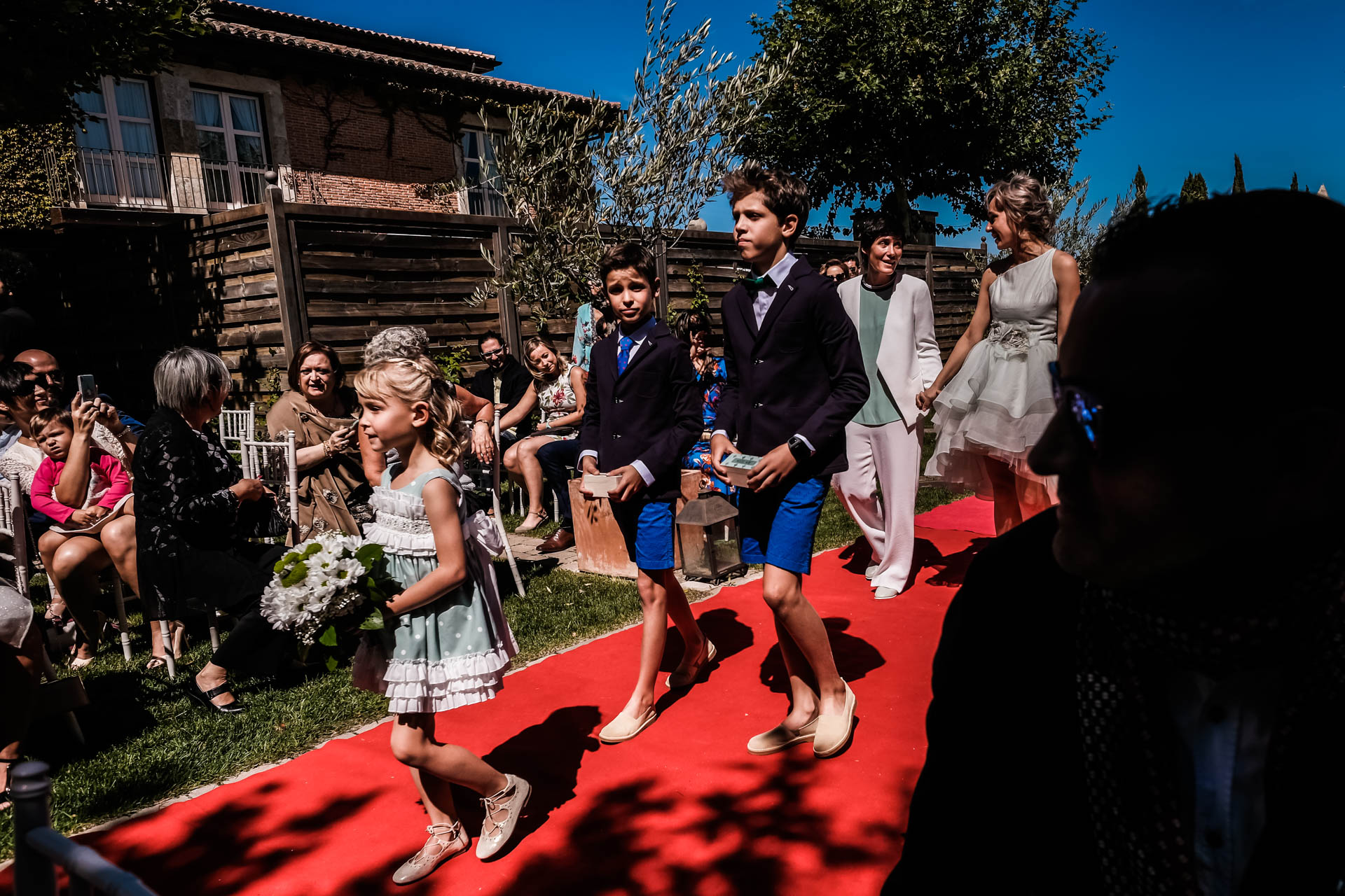 outside ceremony in hacienda zorita