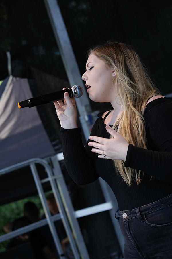 Atlanta performing at ESC MiniFest in Lewes in July 2019