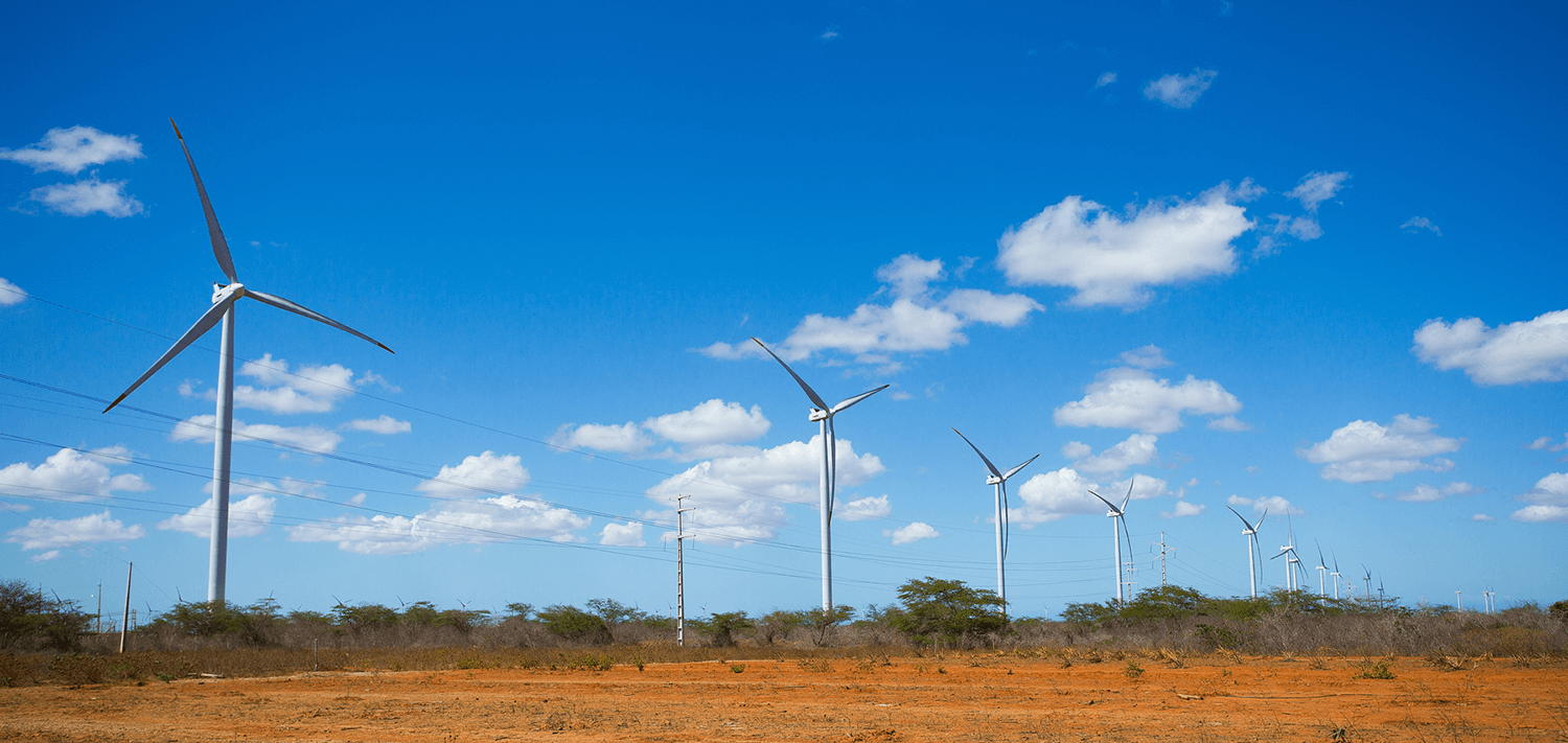 Renascença wind farm, Rio Grande do Norte, Brazil