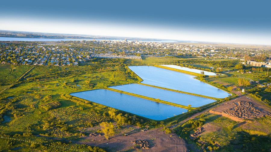 Water treatment plant in Uruguaiana, Brazil